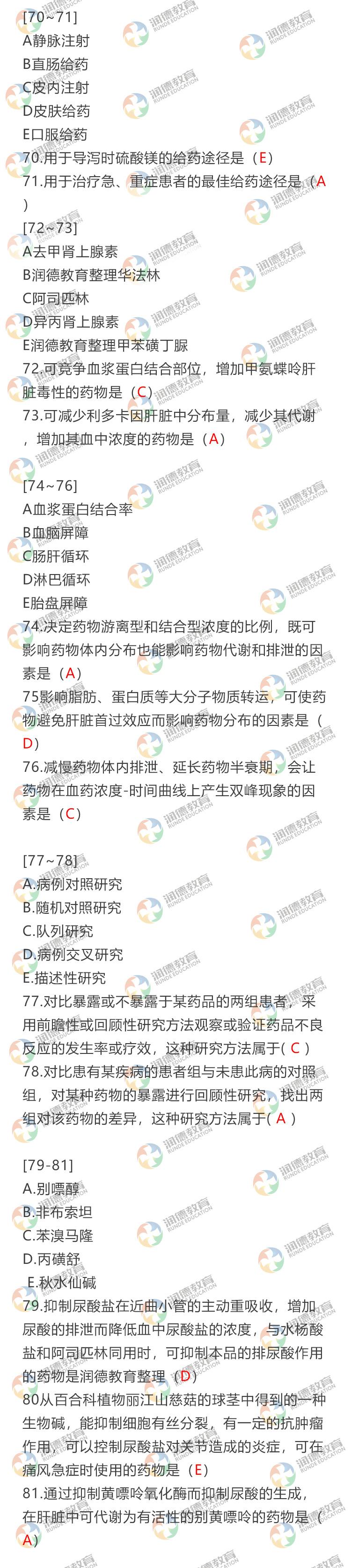执业药师资格考试西药一61-70.jpg